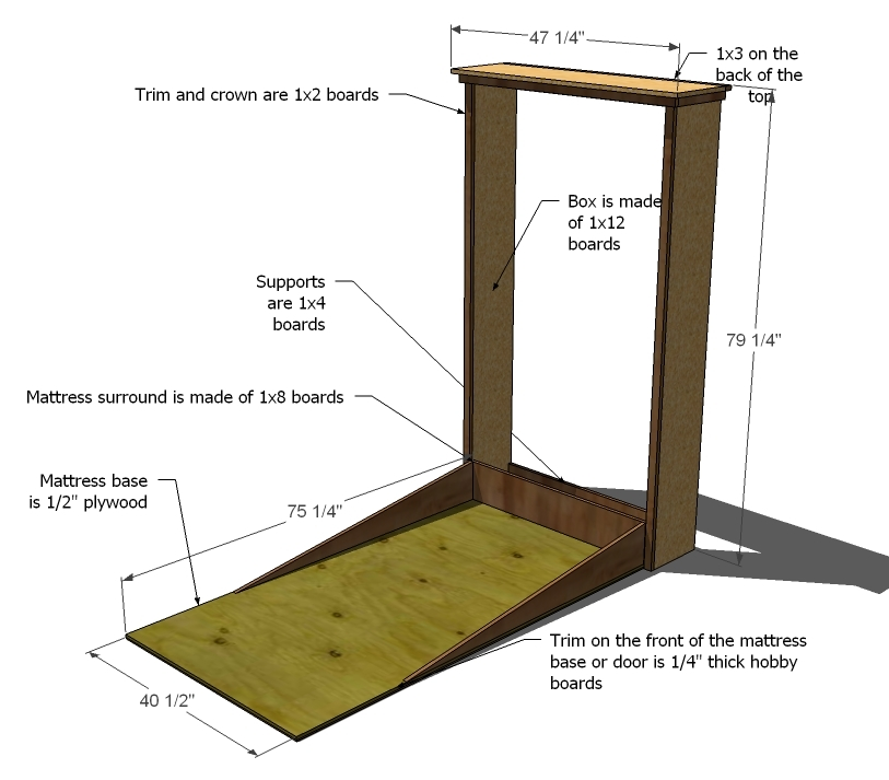 do it yourself murphy bed instructions