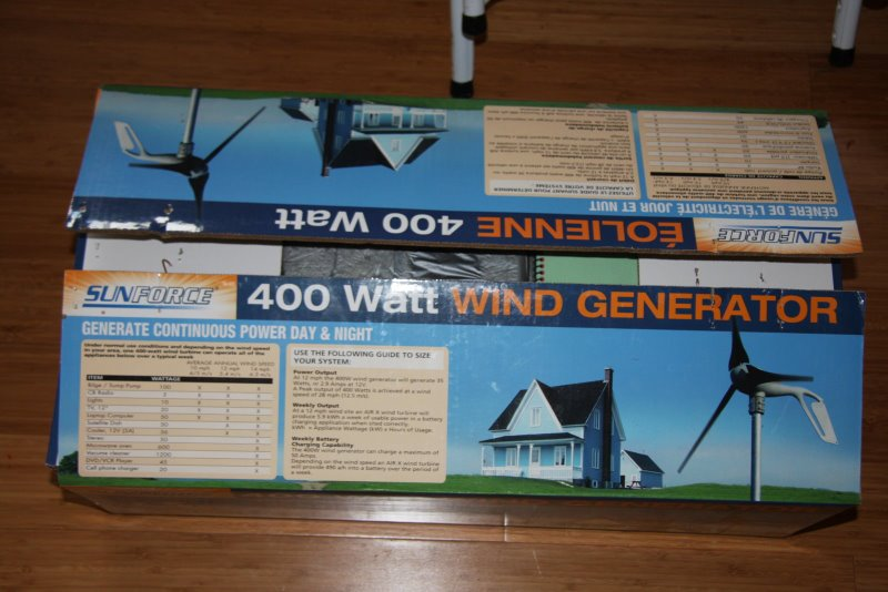 sunforce 400 watt wind generator manual