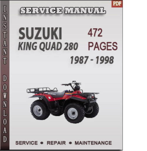 suzuki lt 125 manual free pdf