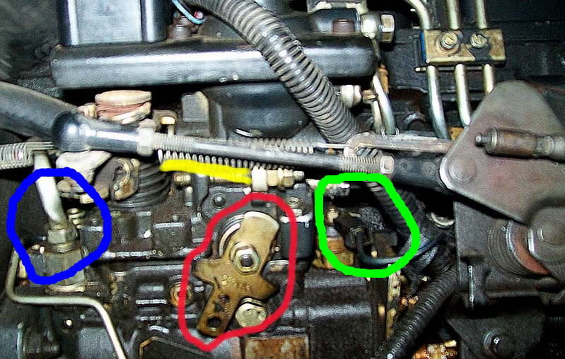 Manual fuel shut off cable