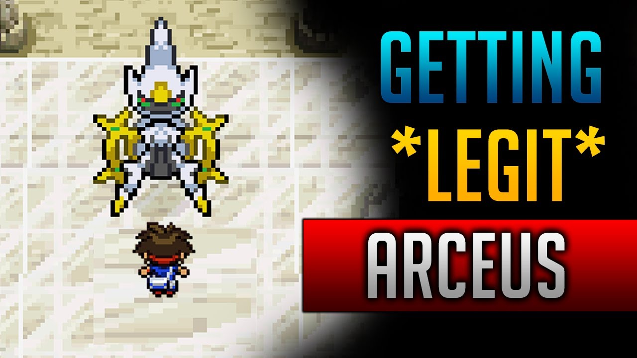 Pokemon platinum how to get arceus event