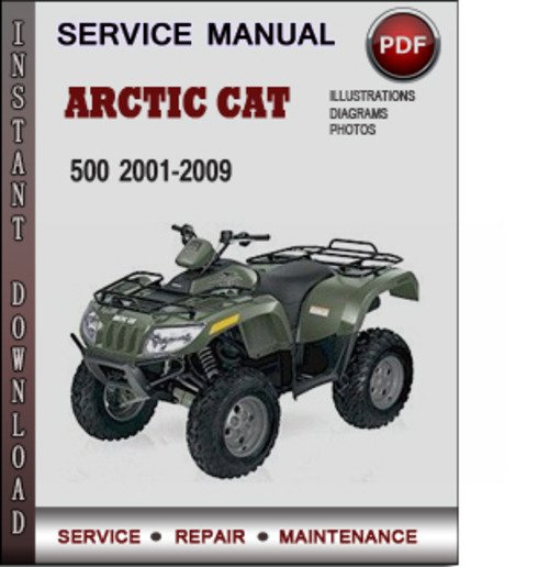 2007 arctic cat 500 service manual