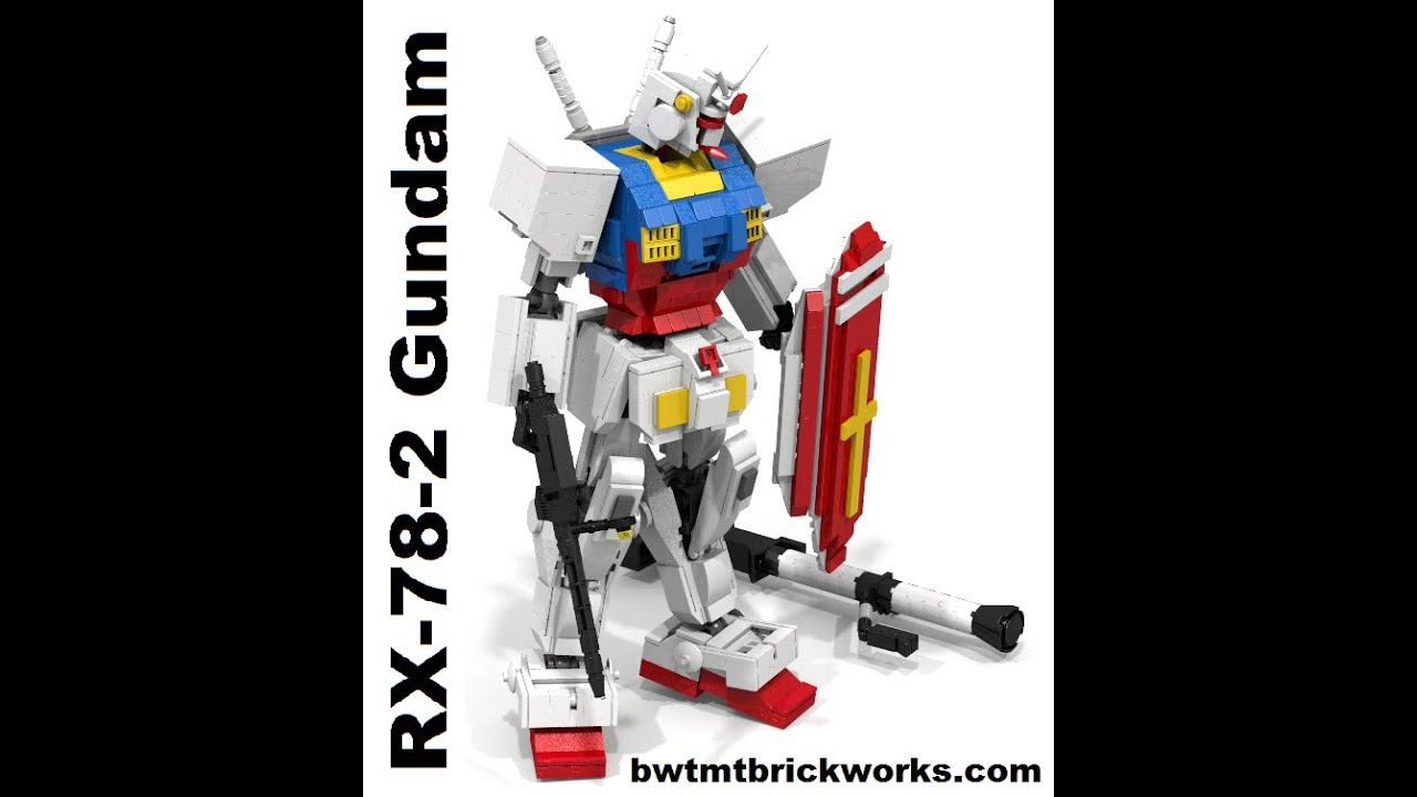 ms gundam rx-78 lego instructions