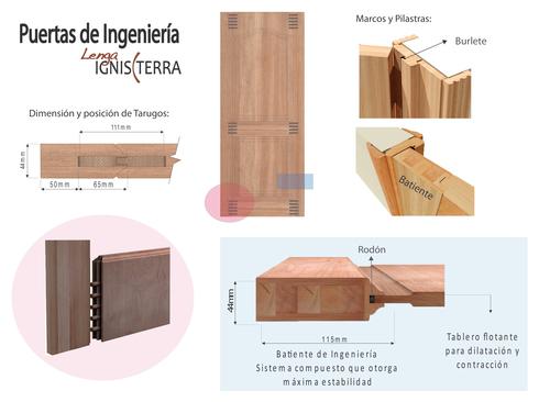 Manual para la fabricacion de puertas de madera