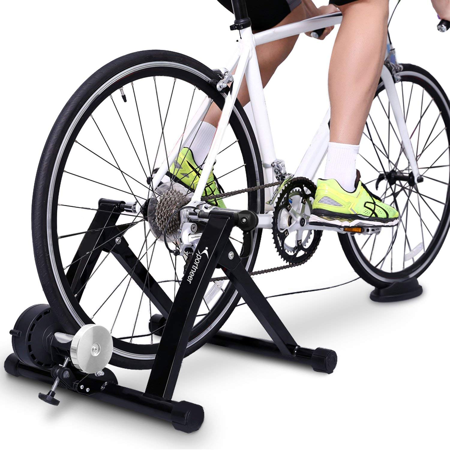 elite magnetic cycle trainer instructions