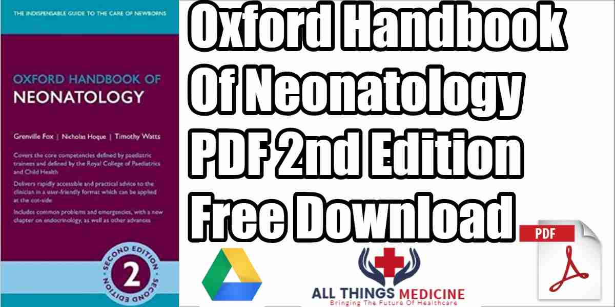 Oxford handbook of emergencies in paediatrics and neonatology pdf