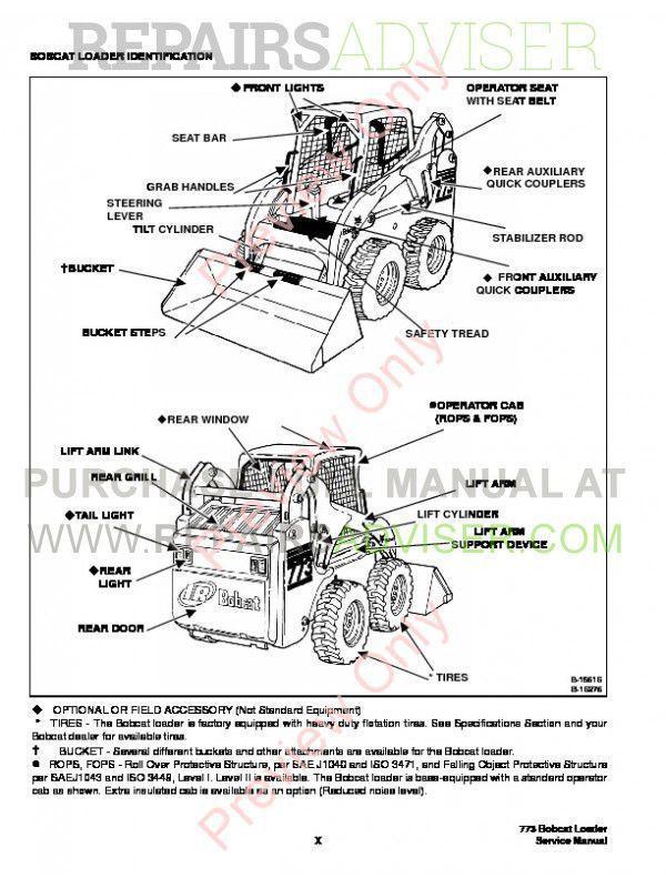 bobcat 773 g series service manual