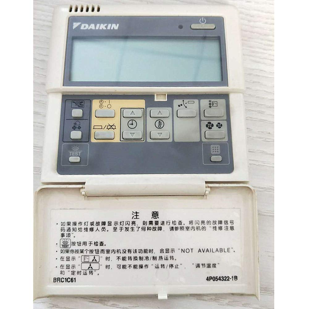 daikin air conditioning manual controls