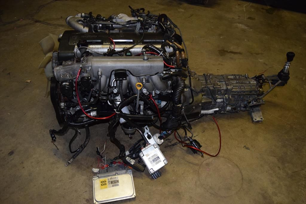 2jz with manual transmission for sale
