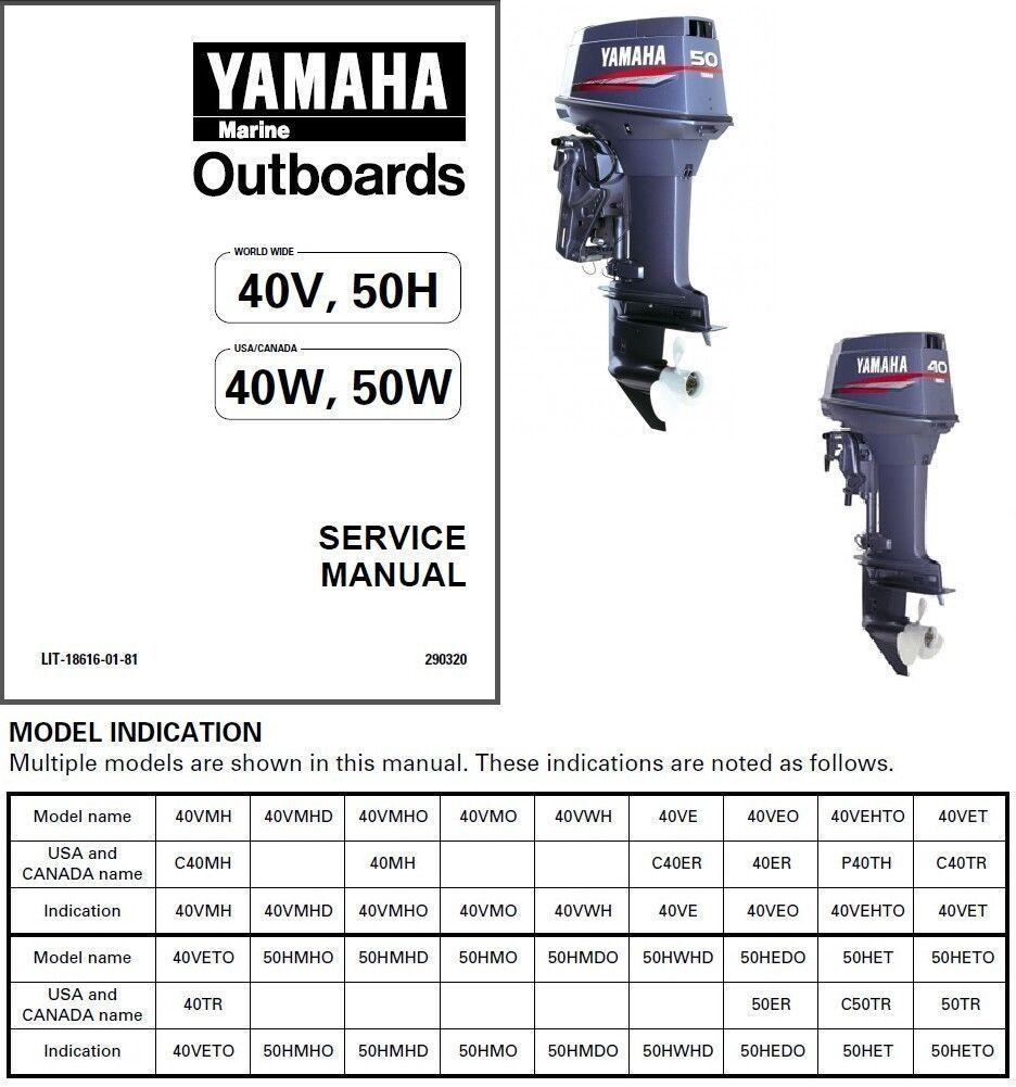 yamaha 2hp outboard workshop manual