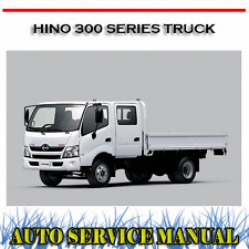 Hino 700 series workshop manual free