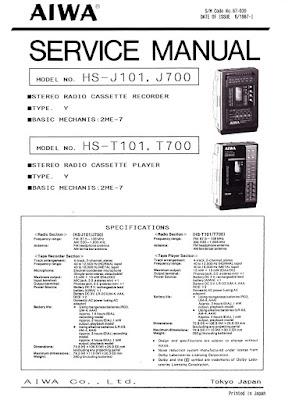 aiwa hi fi service manual