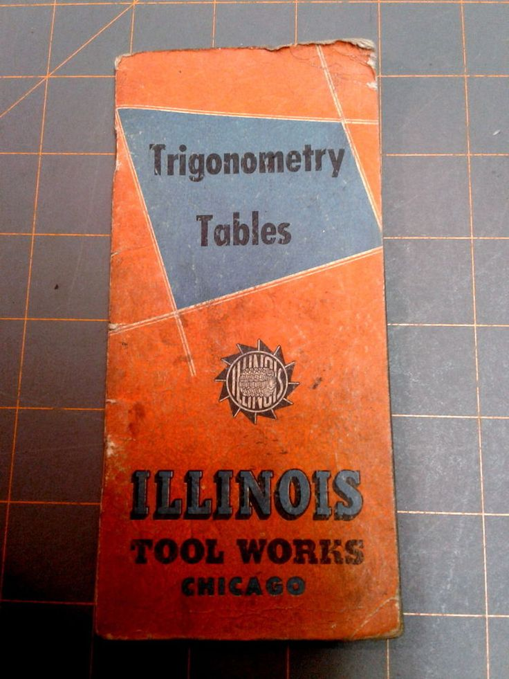Illinois tool works trigonometry tables pdf