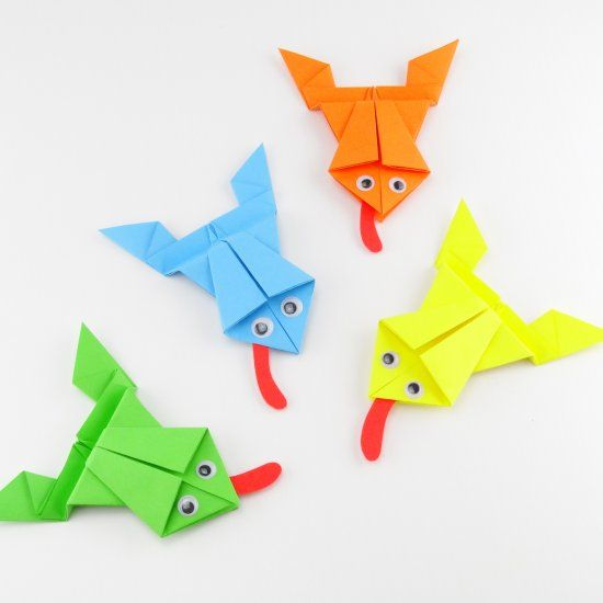 origami frog instructions pdf