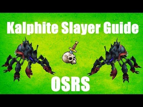 Runescape kalphite queen ironman guide