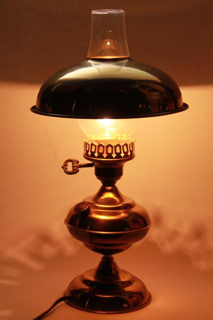 old fashioned oil lamp instructions