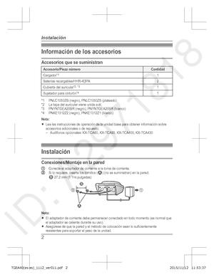 panasonic kx tg 7531 c operating instruction