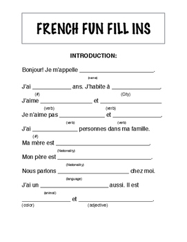 Introduction to french linguistics pdf