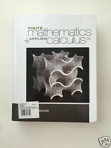 Finite mathematics with applications biggs new image