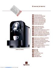 gemini cs 220 pro descaling manual