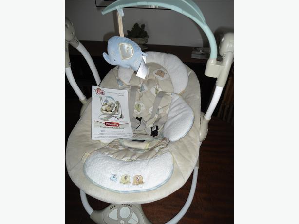 bright starts hybridrive baby swing manual