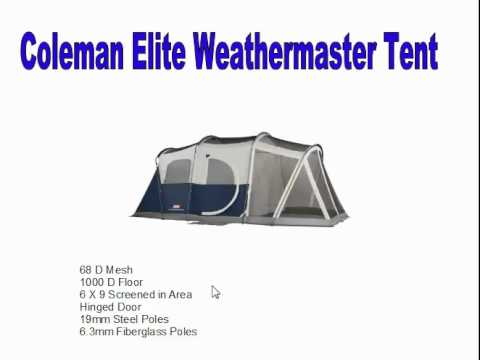 coleman elite weathermaster 6 tent instructions