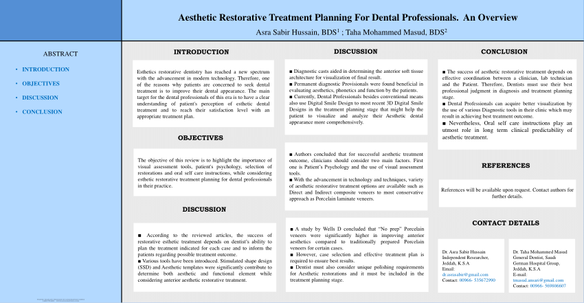 Treatment planning in dentistry pdf