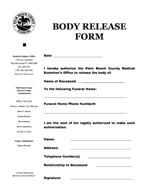 Authority to release dead body pdf