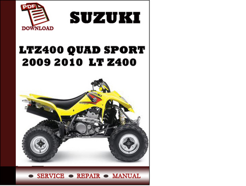 suzuki quadsport z50 owners manual