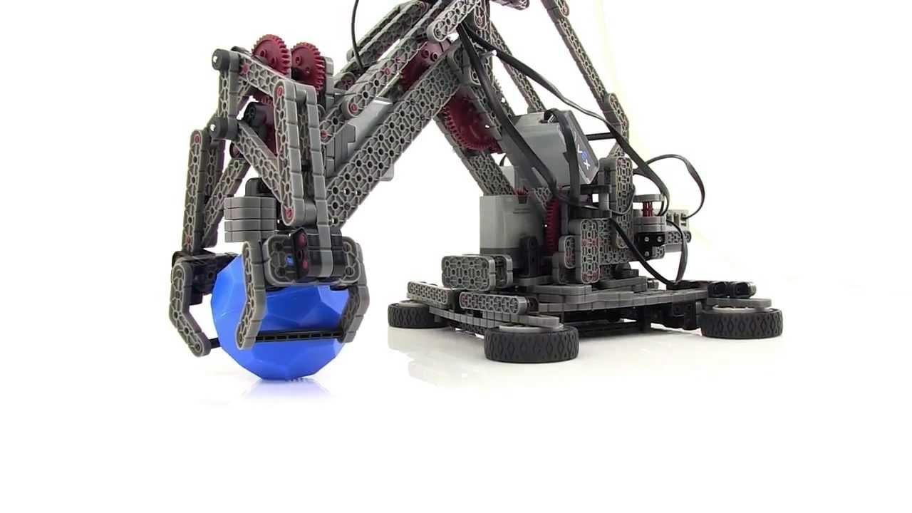 vex robotics arm bot instructions