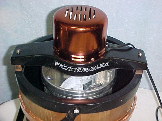 proctor silex ice cream maker manual