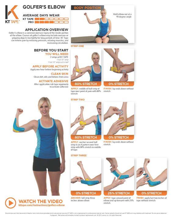 Golfers elbow treatment exercises pdf