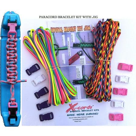 550 cord survival bracelet instructions
