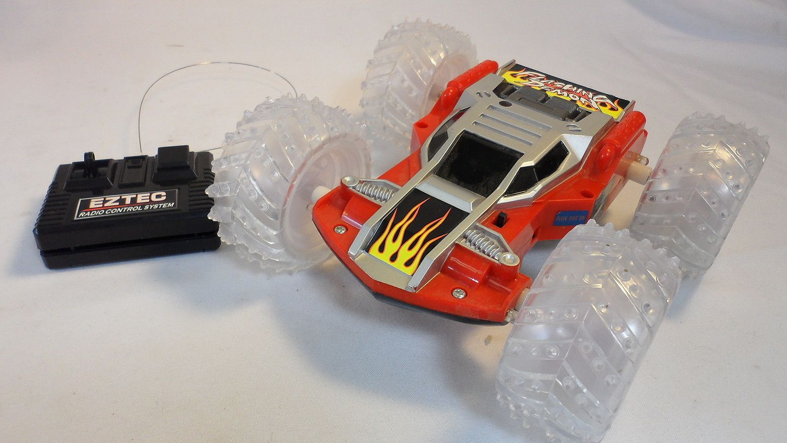 flashing demon remote control car instructions