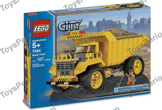 Lego city dump truck instructions