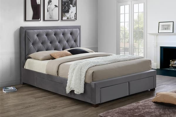 upholstered bed assembly instructions