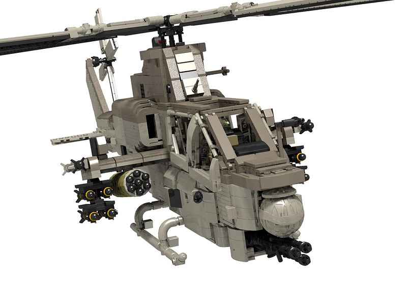 lego cobra helicopter instructions
