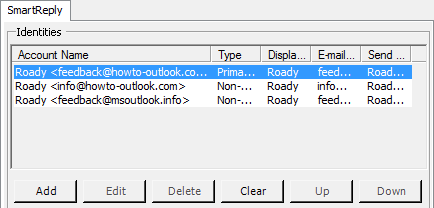 Outlook how to add alias