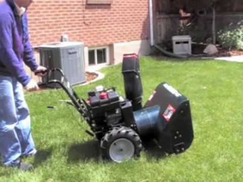 craftsman snowblower 9.5 hp 29 manual