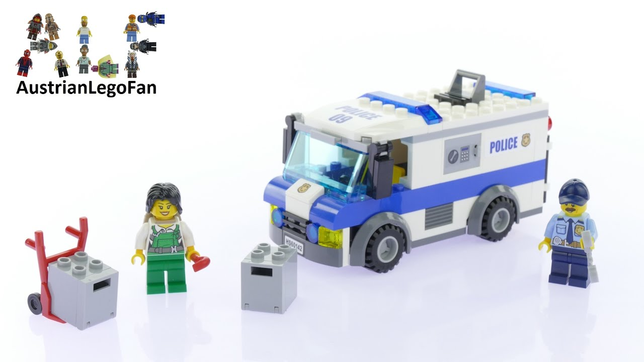 lego police van 60142 instructions