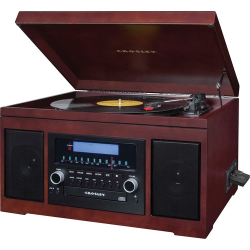 crosley record player cd recorder instructions