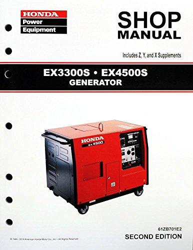 Honda generator troubleshooting guide service shop repair manual
