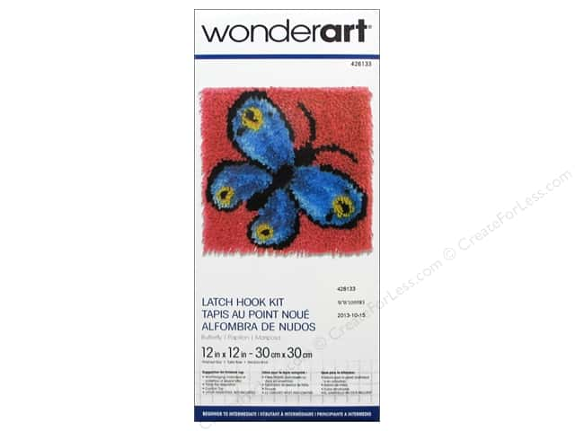 Wonderart latch hook kit instructions