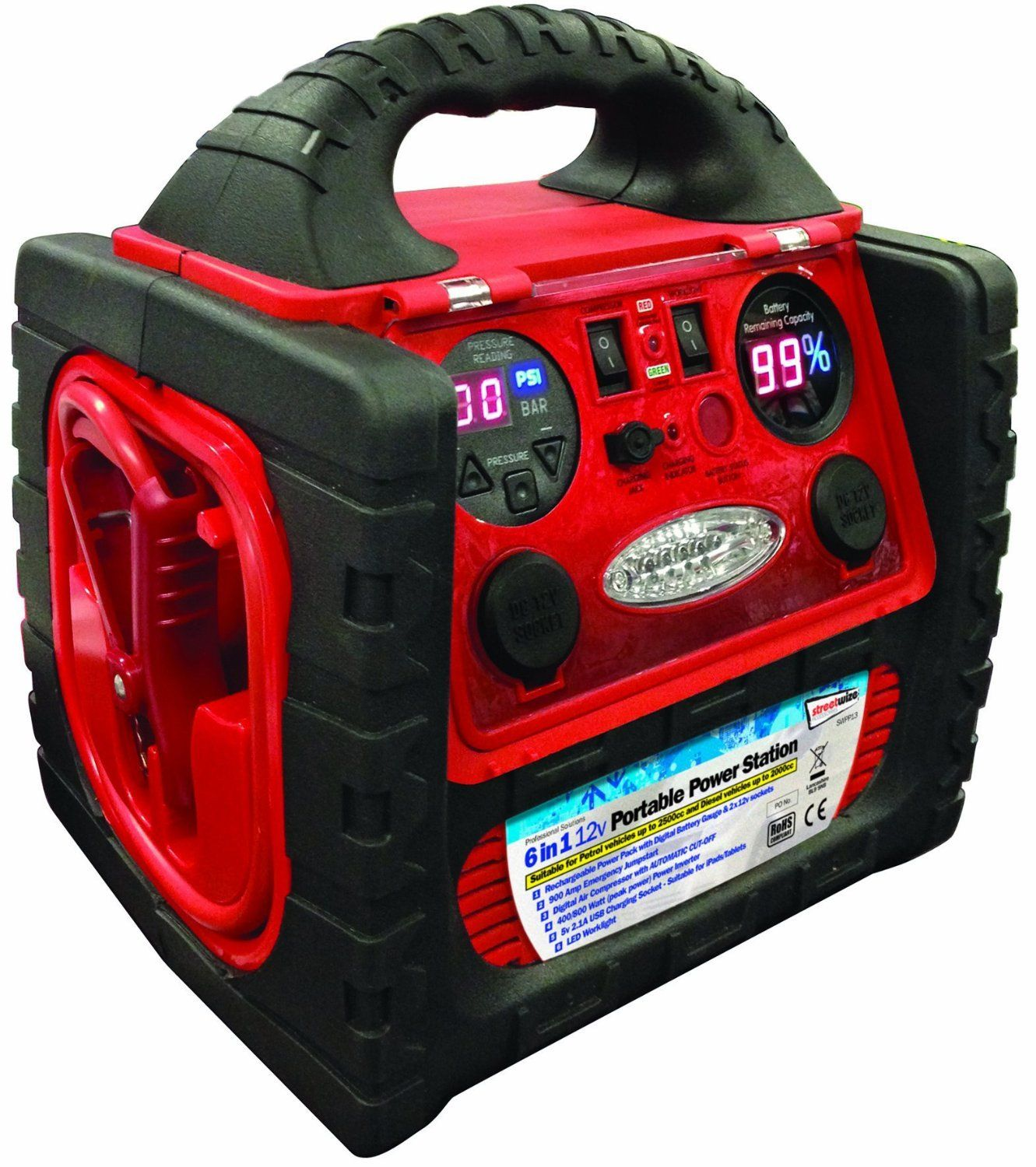 powerstation jump starter and tire inflator manual