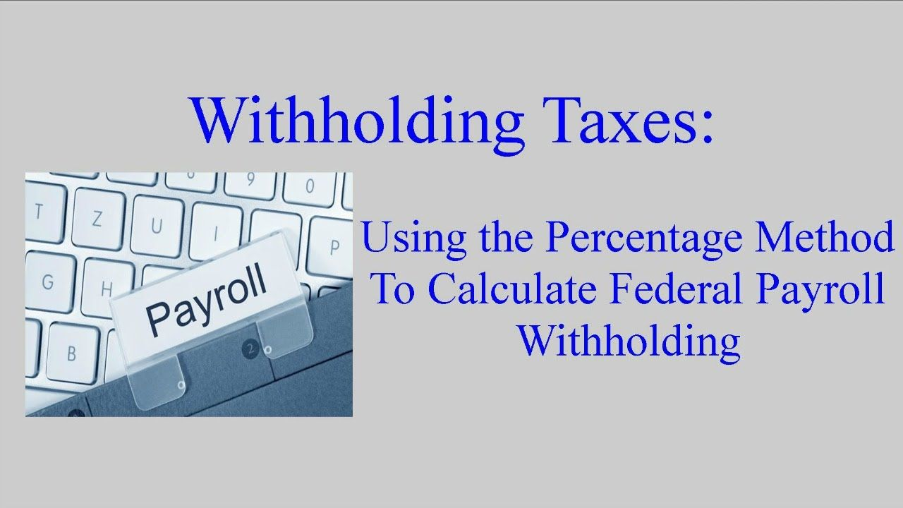 how to manually calculate tax