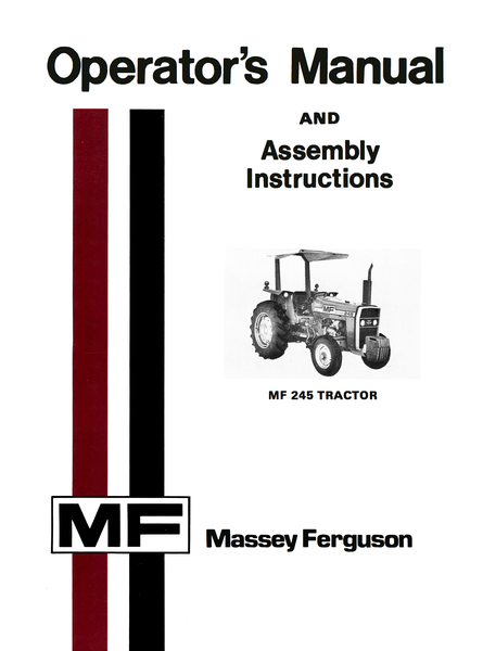 Massey ferguson 245 parts manual pdf