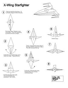 origami fighter jet instructions