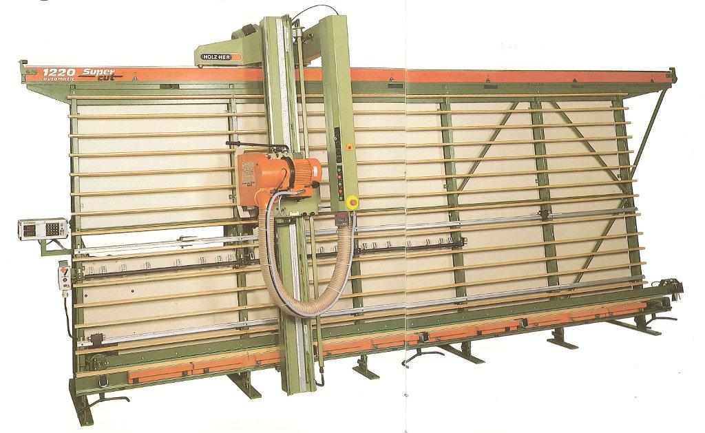holzher 1205 vertical panel saw manual