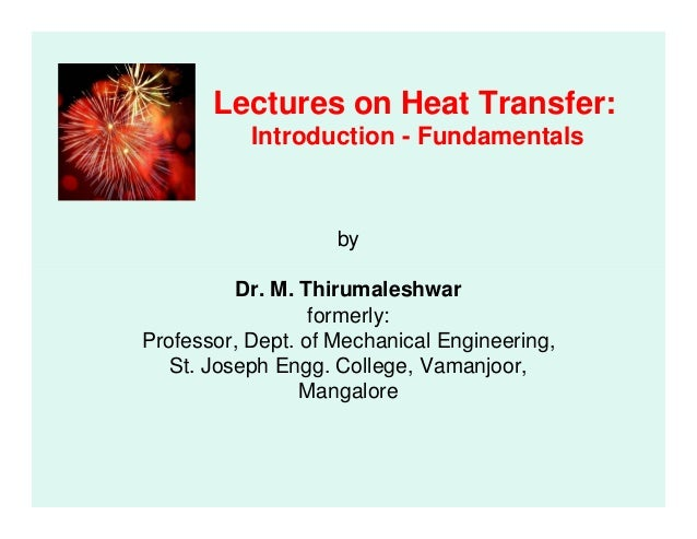 Laws of heat transfer pdf