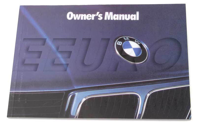 bmw e34 525i owners manual